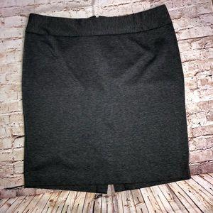 Lane Bryant Pencil Skirt Size 18 1X Gray